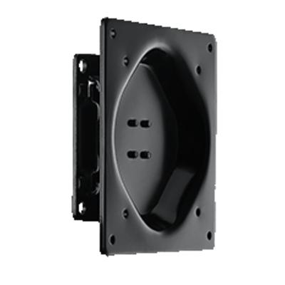 Advantech VESA 75x75/100x100, 20kg Capacity, Steel, Black Monitorarm - Zwart