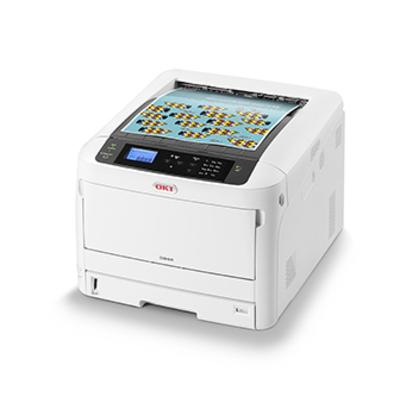 OKI C844dnw Laserprinter - Zwart, Wit