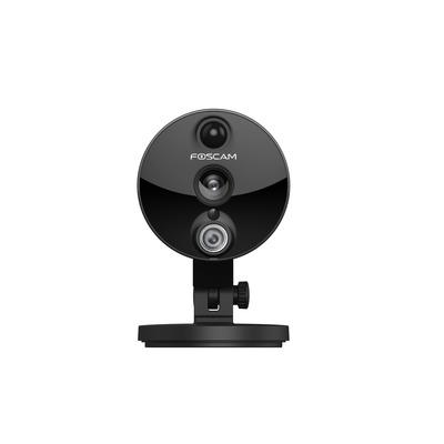Foscam beveiligingscamera: C2 - Indoor HD IP Camera 2MP met PIR - Zwart