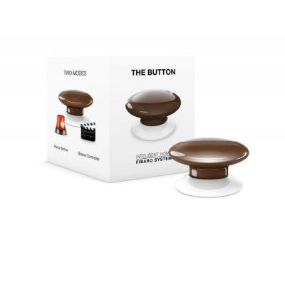 Fibaro : The Button - Bruin, Wit