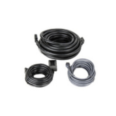 ADS-TEC Cable set for transmitting HDMI and USB 2.0 over 10m USB kabel - Zwart