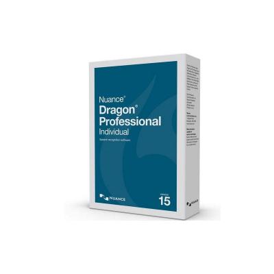Nuance document management software: Dragon Professional Individual 15