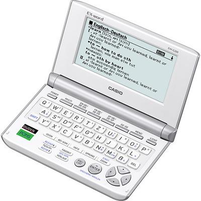 Casio e-reader: EW-G200 - QWERTZ