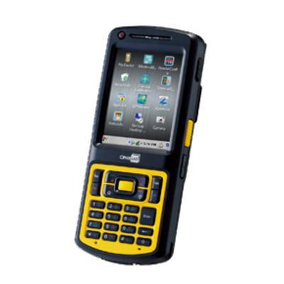 CipherLab CP55 - numeric PDA - Zwart, Geel