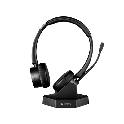 Sandberg Bluetooth Office Pro+ Headset - Zwart