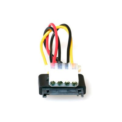 ACT Serial ATA voedingsverloop Kabel 0,15 m - Multi kleuren