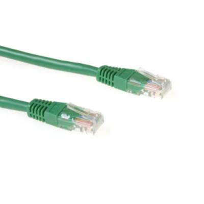 Microconnect 1.5m Cat5e UTP Netwerkkabel - Groen