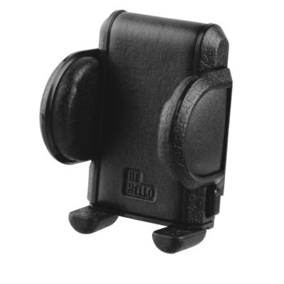 Behello houder: Universal Car holder Airvent Rotative up to 5.5 inch - Zwart