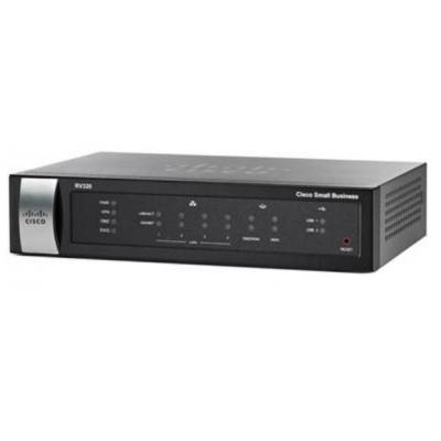 Cisco router: RV320 - Zwart