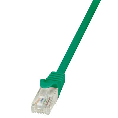 LogiLink 0.25m Cat.5e U/UTP Netwerkkabel - Groen