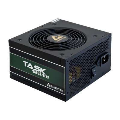 Chieftec 500 W, ATX, 115-230 V / 7 A, 47 - 63 Hz, 120mm silent fan, 140 x 150 x 87 mm Power supply unit - Zwart
