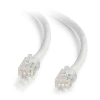 C2G 0,5m Cat5e Non-Booted Unshielded (UTP) netwerkpatchkabel - wit Netwerkkabel