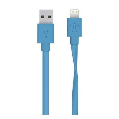 Belkin kabel: USB to Lightning, 1.22 m - Blauw