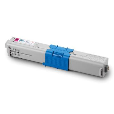 OKI cartridge: 44469705, magenta, 2000 pages, for use with C31dn/C510dn/C530dn