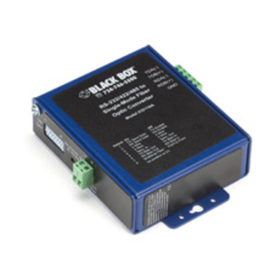 Black Box ICD116A Seriele converter/repeator/isolator - Zwart, Blauw