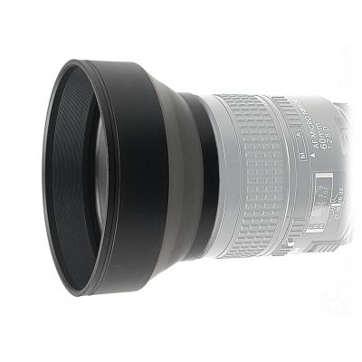 Kaiser fototechnik lenskap: 3-in-1 Lens Hood, 37 mm - Zwart