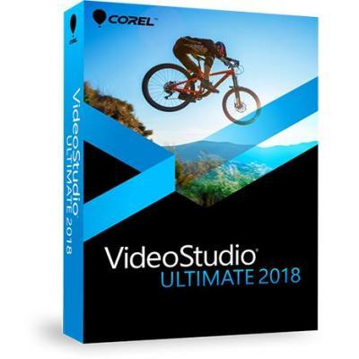 Corel videosoftware: VideoStudio 2018 Ultimate
