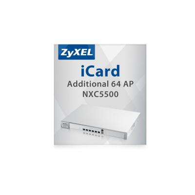 Zyxel iCard 64 AP NXC5500 Software licentie