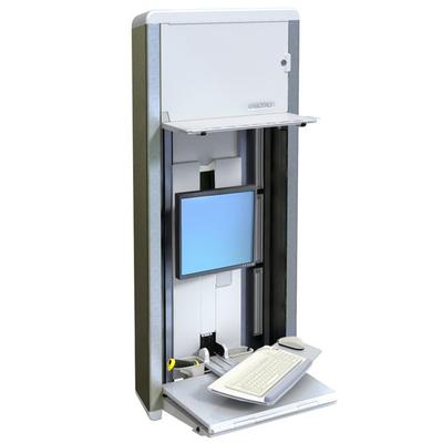 Ergotron StyleView® VL Enclosure Monitorarm - Zilver
