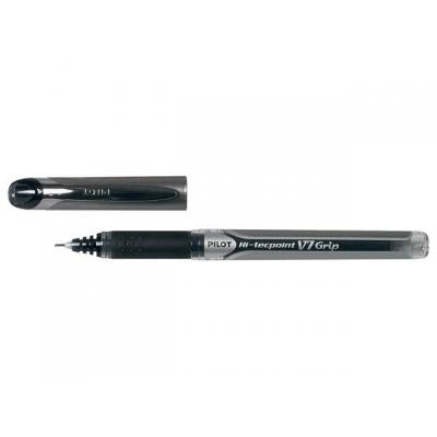 Pilot pen: Rolschrijver Hi-TecV7 Grip zwart