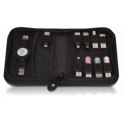DeLOCK USB adapter kit 10 parts Hub - Zwart