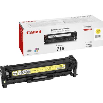 Canon CRG 718 Toner - Geel