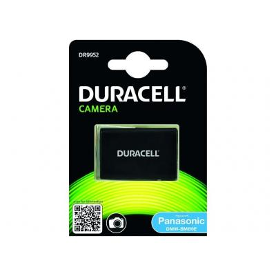 Duracell batterij: Lithium ion, 7.4V, 850 mAh. - Zwart