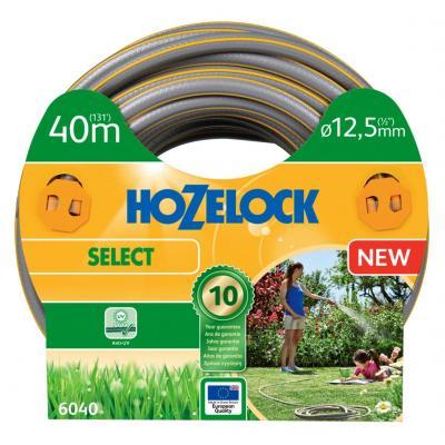 Hozelock tuinslang: tuinslang Select Ø 12.5 mm 40 meter - Grijs, Geel