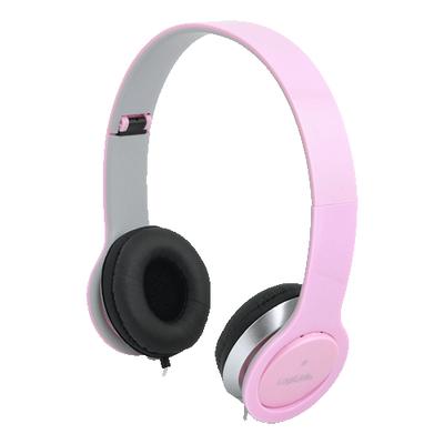 LogiLink HS0032 Headset - Roze