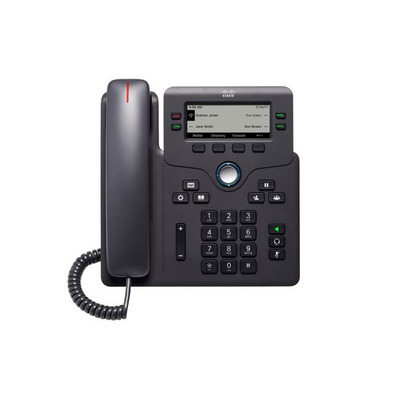 Cisco 6841 IP telefoon - Zwart