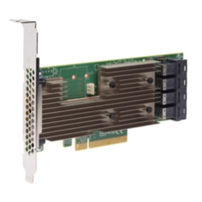 Broadcom 9305-16i Interfaceadapter - Aluminium, Zwart, Groen
