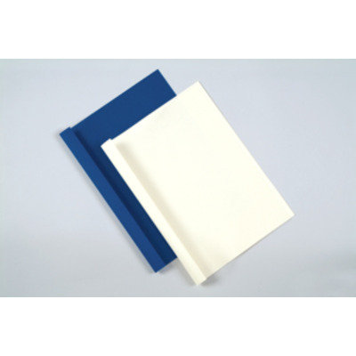 Fellowes 3mm Standaard thermische bindkaft Binding cover - Transparant, Wit