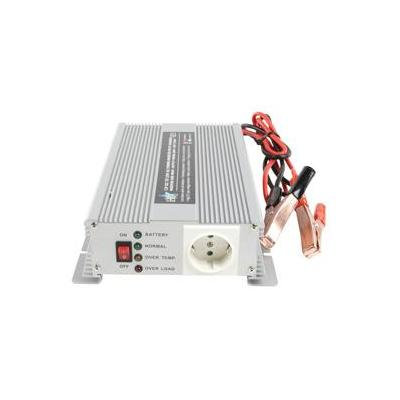Hq netvoeding: 12V-230V 600W - Zilver