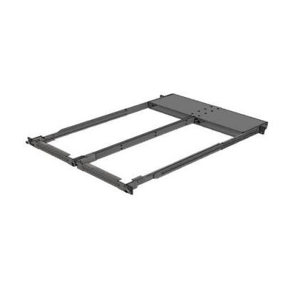 Mellanox Technologies Mounting Kit, 1U, Black Rack toebehoren - Zwart