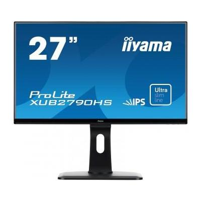 "Iiyama monitor: ProLite XUB2790HS-B1 27"" Full HD AH-IPS - Business - Zwart"