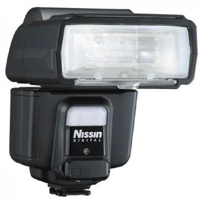 Nissin camera flitser: i60a - Zwart