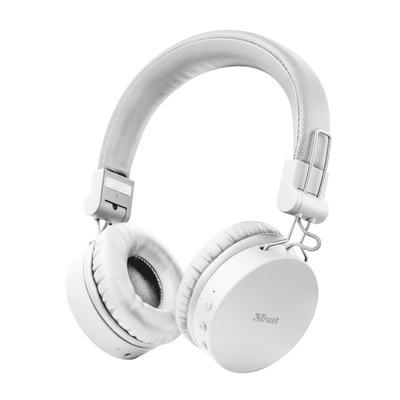 Trust Tones - Draadloze Koptelefoon - Wit Headset