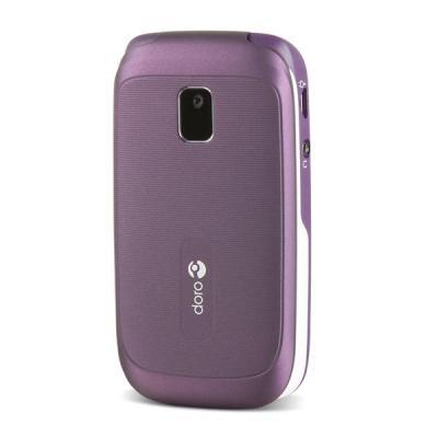 Doro mobiele telefoon: PhoneEasy 612 - Paars, Wit