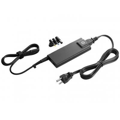 Hp netvoeding: 90W Slim AC Adapter - Zwart
