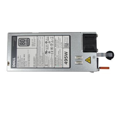 Dell power supply unit: 495 Watt Voeding - Grijs