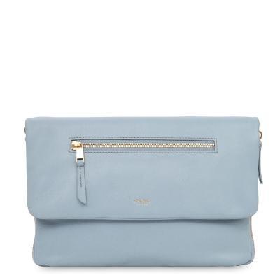 "Knomo vrouwen-handtas: H20.5 x W28 x D3cm, 0.6 kg, 25.4 cm (10 "") Tablet - Grijs"