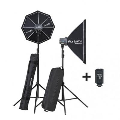 Elinchrom D-Lite RX One/One Softbox To Go photo studio equipment set - Zwart