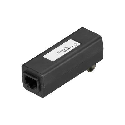 Black Box PoE Surge Protector - Mode B, RJ-45, DIN-Rail Mount PoE adapter