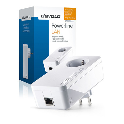 Devolo dLAN 1200+ Powerline adapter - Wit