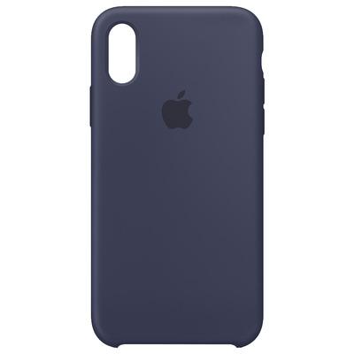 Apple Siliconenhoesje voor iPhone XS - Middernachtblauw mobile phone case