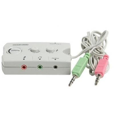 König Audio switch : Audio Switch, Inputs: Jacks 1x male plug 3.5mm, 1x chassis 3.5mm, Outputs: Jacks 1x male plug .....