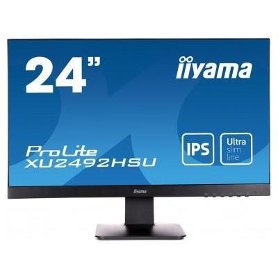 "Iiyama monitor: ProLite 24"" Full HD Monitor - Zwart"