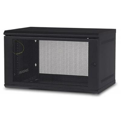 Apc rack: NetShelter WX 6U Wall Mount Cabinet - Zwart