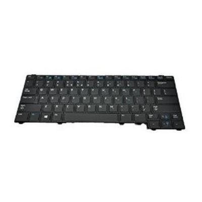 DELL Keyboard (USA/International), Black notebook reserve-onderdeel - Zwart