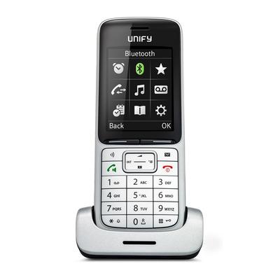 Unify SL5 dect telefoon - Zwart, Zilver
